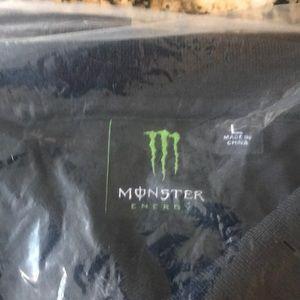 Monster golf shirt